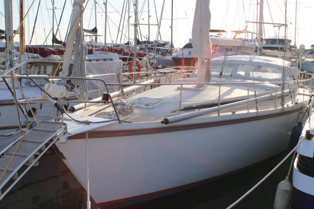 AMEL Yachts history a yacht in Port Ginesta Barcelona