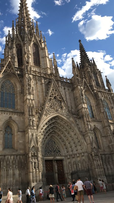Cathedral of Barcelona history