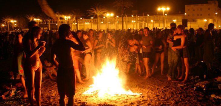 Nit de St Joan festival Barcelona