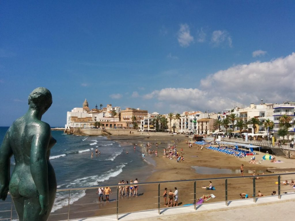 Beach In Sitges Festival Barcelona