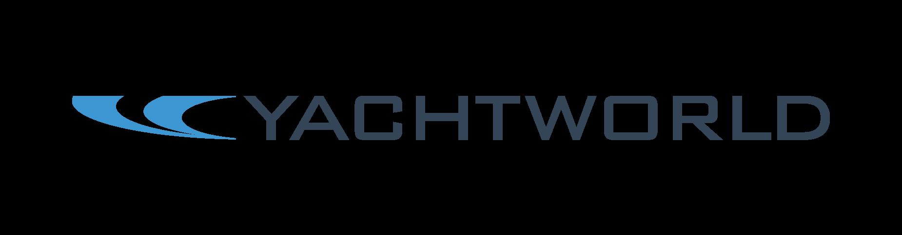 Yacht World advertising logo
