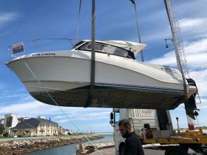 Motorboat Quicksilver 640 Weekend servizi portuali