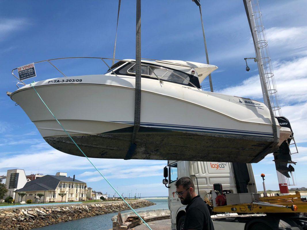 Motorboat Quicksilver 640 Weekend