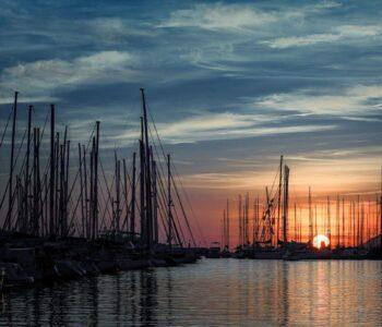 lovely sunset barcelona 55