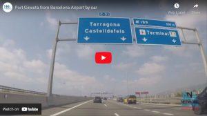 Finden Sie Port Ginesta Video Barcelona Flughafen