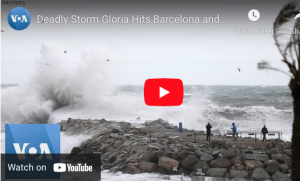 Storm in Barcelona Weather best time to visit