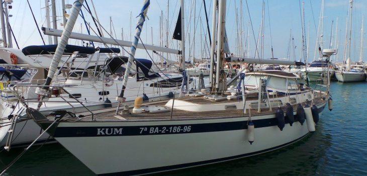 Side Halberg Rassey Yacht For Sale Barcelona