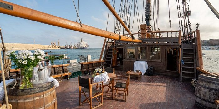 Live aboard a pirate ship for sale