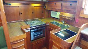 Galley Halberg Rassey Yacht For Sale Barcelona