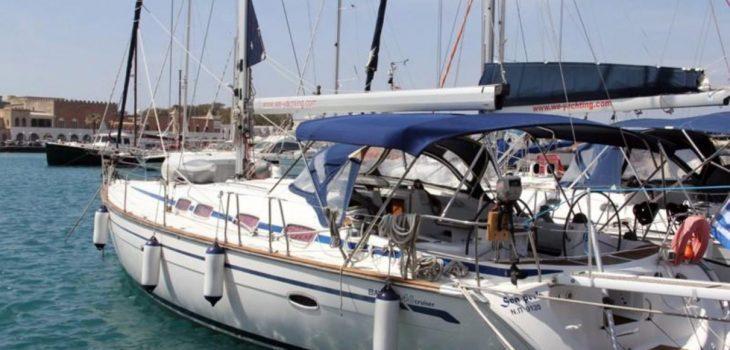 Bavaria 46 Yacht marina side