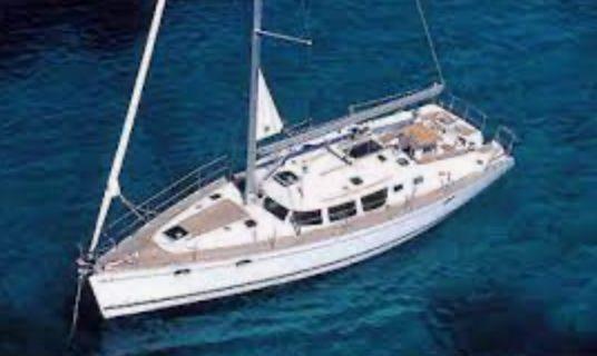 Jeanneau 43 Yacht Exhaust problem
