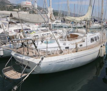 Northwind Yacht Schönes Teakdeck und elegant