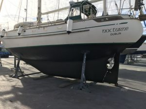 Long keel a lovely shape