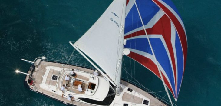 Sailing Yacht Oyster 54 For sale plan sea Feature immage
